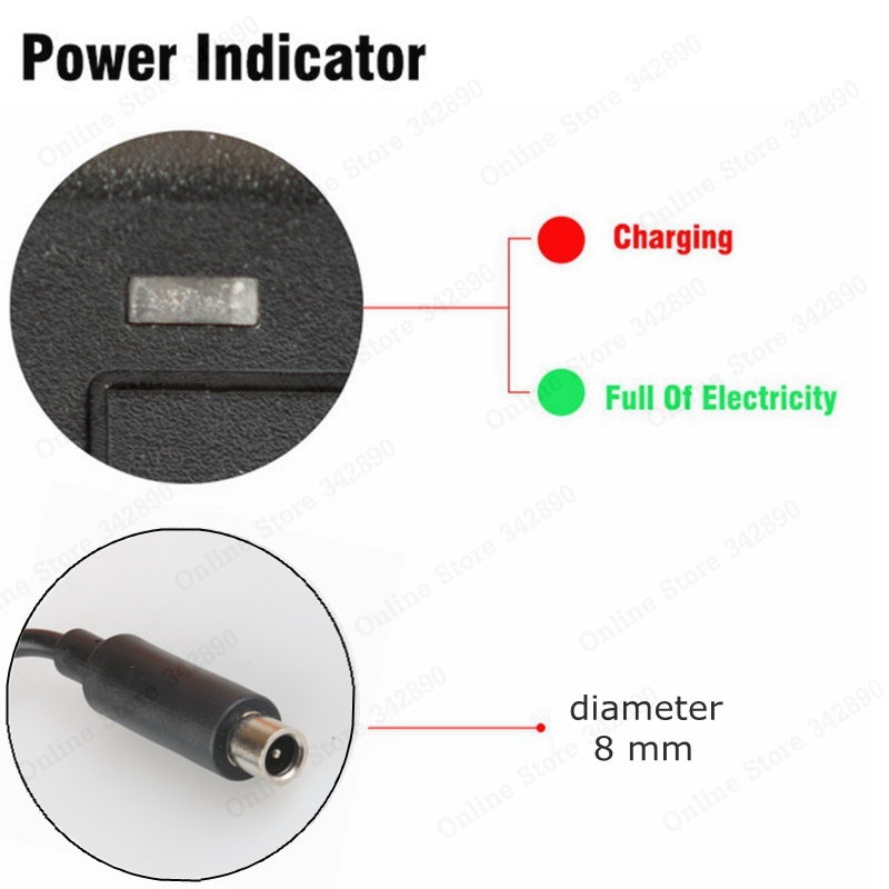 Electric Scooter Charger 42V 2A Adapter for Xiaomi Mijia M365 Ninebot Es1 Es2 Electric Scooter Accessories Battery Charger in Chargers from Consumer Electronics