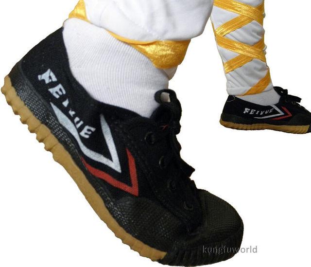 dd7d2656d Black Color Shaolin Monk Training Feiyue Shoes Tai Chi Martial arts  Taekwondo Karate Kung fu Sports Sneakers