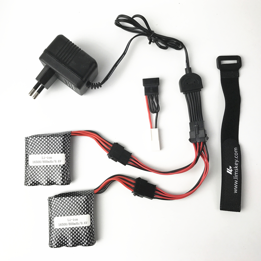 JYRC 9115 9116 <font><b>S911</b></font> S912 <font><b>RC</b></font> Car Upgrade spare <font><b>parts</b></font> Double battery cable new Battery 9.6V 800mah Battery image