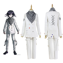 Anime Danganronpa V3 Ouma kokichi przebranie na karnawał japońska gra mundurek szkolny strój