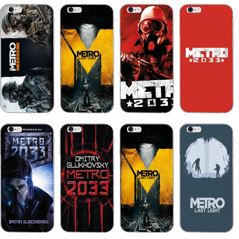 Game Metro 2033 Silicone Tpu Soft Phone Case For Apple Iphone 4 4s 5 5s 5c Se 6 6s Plus 7 7plus 8 8plus X Phone Cases Case Mecase Plus Aliexpress