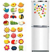 12 шт. набор детские деревянные Мультяшные животные милый магнит на холодильник ЭКО Детские развивающие игрушки магниты на холодильник идеи подарка
