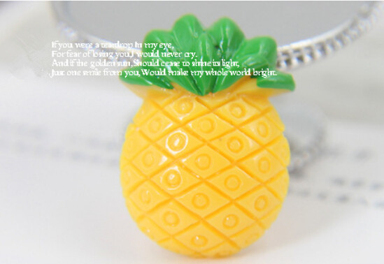 Us 819 15 Off25pcs2027mm Lovely Resin Ananas Resin Craft Kawaii Cabochon For Phone Deco Hair Diy Accessories In Figurines Miniatures From Home