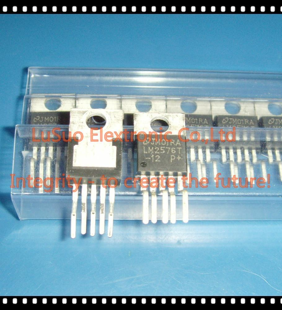 10pcs Lm2576t-12 Lm2576t Lm2576 Simple Switcher 3a Step-down Voltage Regulator Good For Antipyretic And Throat Soother