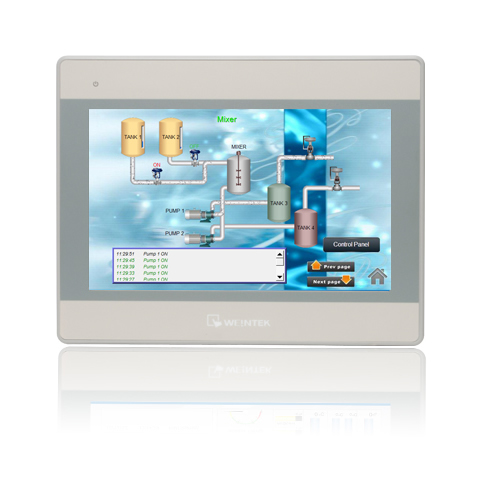 WEINTEK HMI 10 COLOR TFT MT8102IE (COMPATIBLE WITH ALLEN BRADLEY PLC'S) Support Ethernet, Can replace MT8101iE MT8100iE mt8102ie 10 1 inch 1024 600 hmi new original weintek weinview hmi 1024x600 ethernet replace mt8100ie 1 year warranty