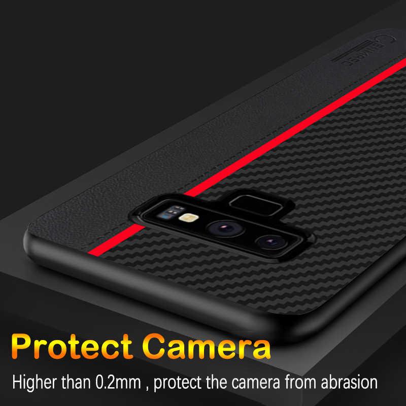 Funda protectora de fibra Original para Samsung Galaxy Note 9 para Samsung S8 S9 s10 más S10e caso