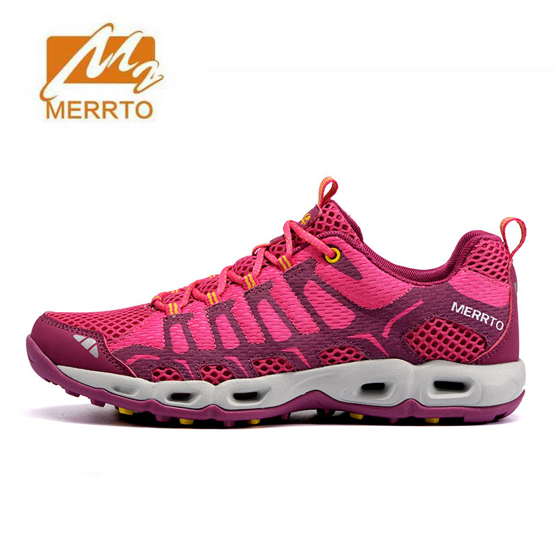 MERRTO Womens Vogue Sports Outdoor Trekking Hiking Shoes Sneakers For Women Sport Climbing Mountain Shoes Sneaker Woman 2017 womens sports summer outdoor hiking trekking aqua shoes sandals sneakers for women sport climbing mountain shoes woman