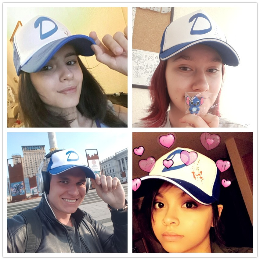 Climate Clementine Cap The Walking Die Game Cap Clementine Hat Cap Clem S Cosplay Trucker Cap Girl Coser Zombie Killer Cool Caps