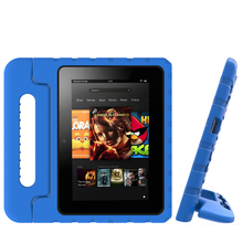 Tablet Case For Amazon Fire 7 Case 2019 7 inch Tablet Cover  EVA Super Shockproof Portective Case Portable Handle Stand Cover tablet case 7 inch universal tablet pc protective shell for children shockproof cover eva handle stand for amazon kindle fire