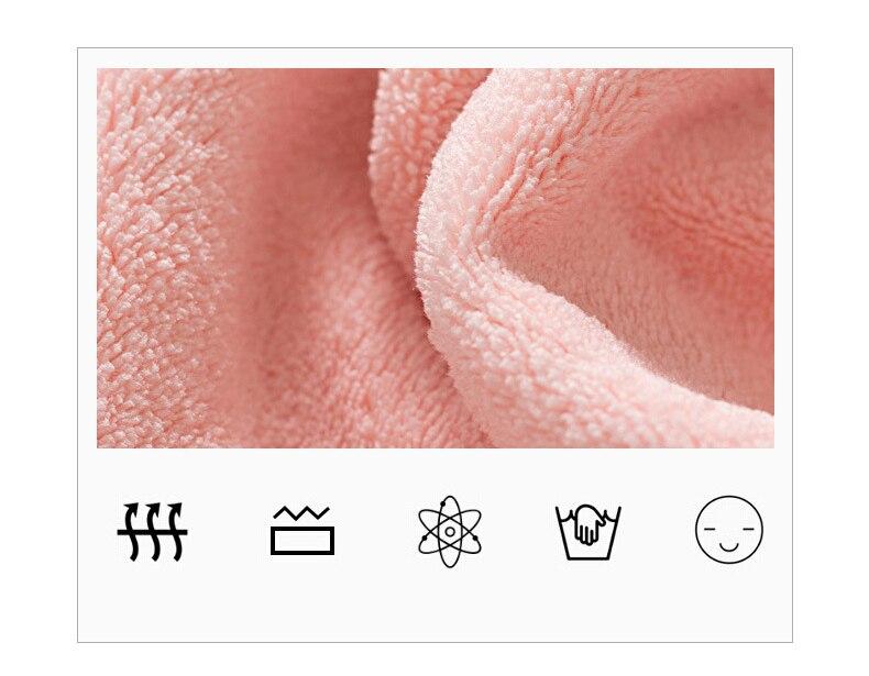 Women's Microfiber Bath & Hair Towels Set 13