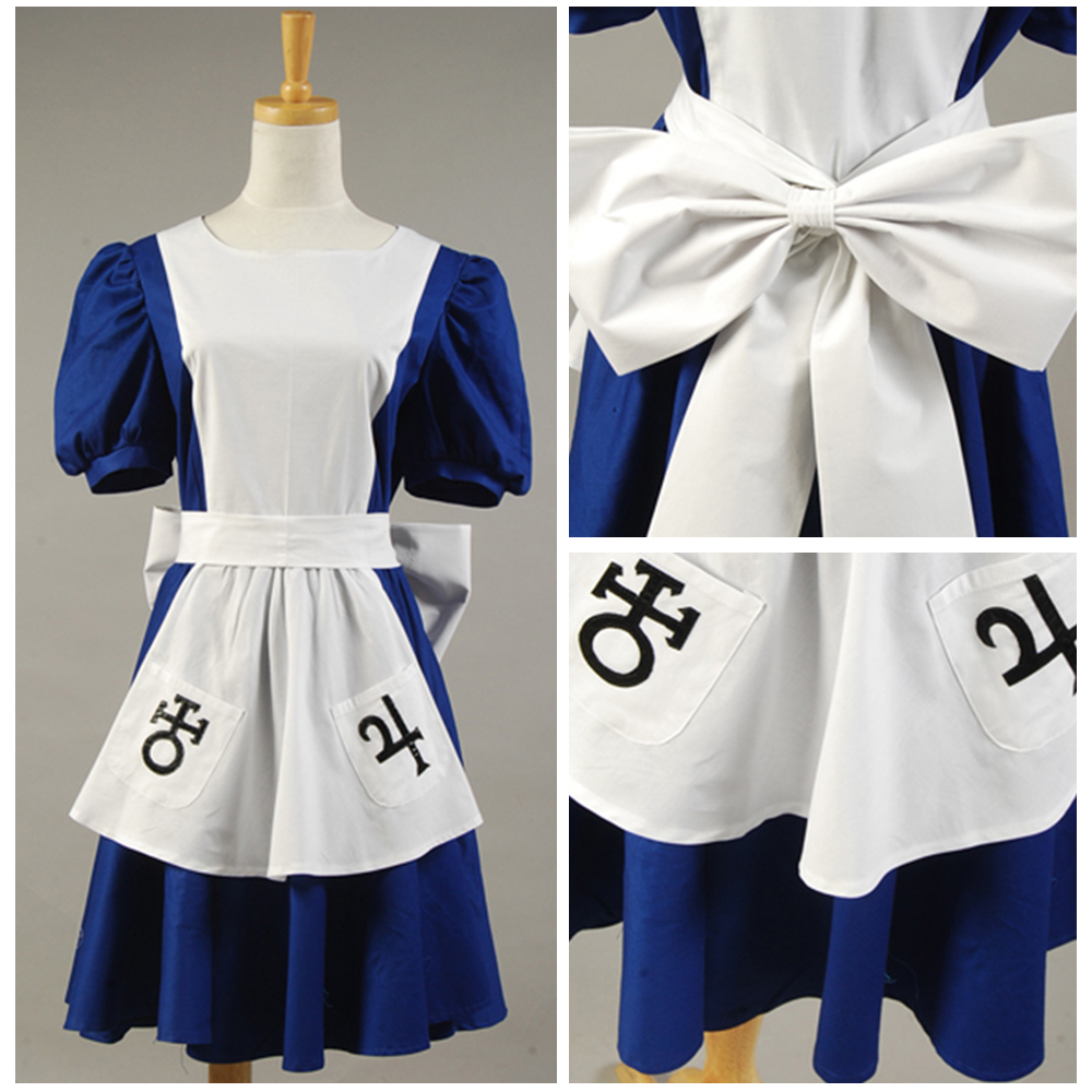 White apron like alice