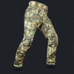 Image 2 - Mege Knight Band Clothing Tactical Camouflage Military Pants Men Rip stop SWAT Soldier Combat Trousers Militar Work Army Outfit