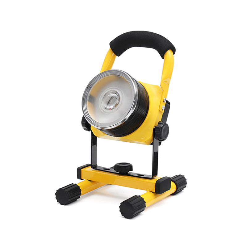 Mising 20W Waterproof IP65 Floodlight LED Flood Light Rechargeable Portable Outdoor Lighting High Power Floodlight for Camping