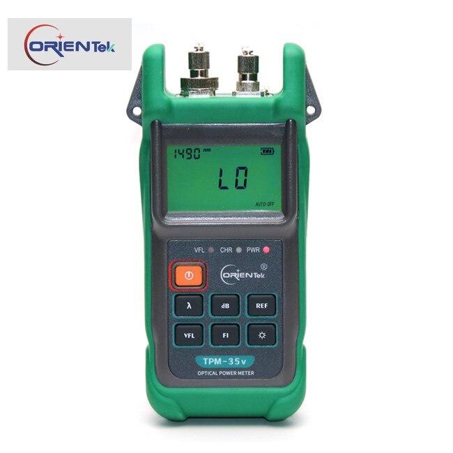 2-en-1 Optique Power Meter Réseau Câble Test testeur de fiber
