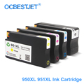 Para HP 950XL 951XL HP 950 951 remanufacturados cartuchos de tinta para HP Officejet Pro 8100, 8600, 8610, 8615, 8620, 8625 251dw 276dw HP950