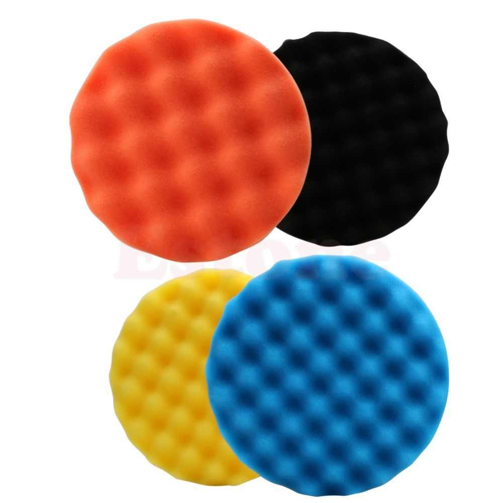 4 unids/set juego de almohadillas pulidoras de 7 pulgadas (180mm) para pulir el coche