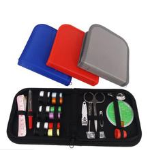 Portable Travel Sewing Box Kitting Needles Tools Quilting Thread Stitching Embroidery Craft Kits Home Organizer