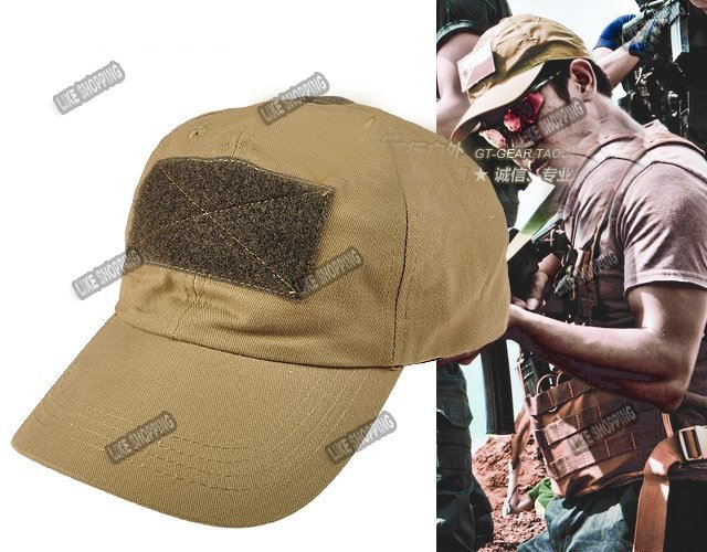 tactical Hat PMC Ball Cap with Velcro Patch outdoor sports Hat free ship cb5f5ad1b5c