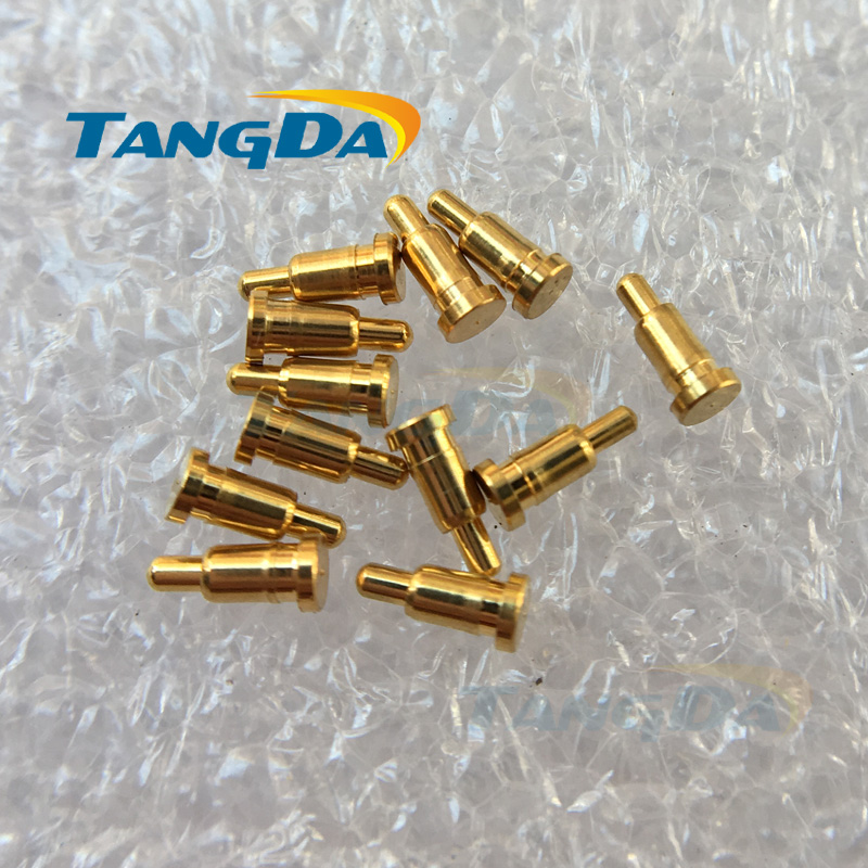 Tangda 1000pieces 2 4 5mm D 2 4 5 spring probe PCB test pin High current