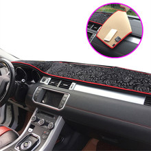 Left hand drive Car dashboard cover for Mitsubishi Auto dashboard Mat Non slip Pad for Mitsubishi Pajero 2007-2015