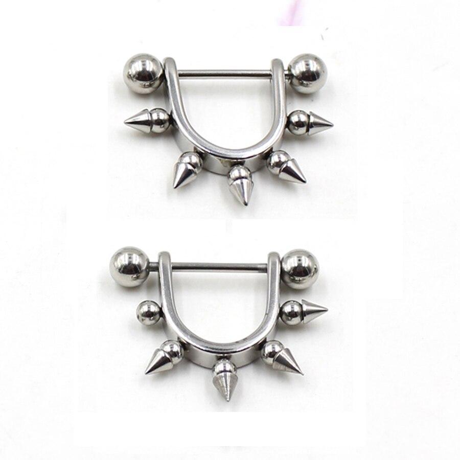 Crystal Surgical Steel Piercing Horseshoe Lip Bar Stud Nose Ear Nipple Ring SK
