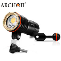 Diving Flashlight UV Underwater lanterna ARCHON DM20 WM26 DM20 II WM26 II Waterproof * L2 U2 Led lampe torche 32650 Battery