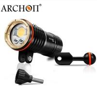 Diving Flashlight UV Underwater lanterna ARCHON DM20 WM26 DM20 II WM26 II Waterproof * L2 U2 Led lampe torche 32650 Battery