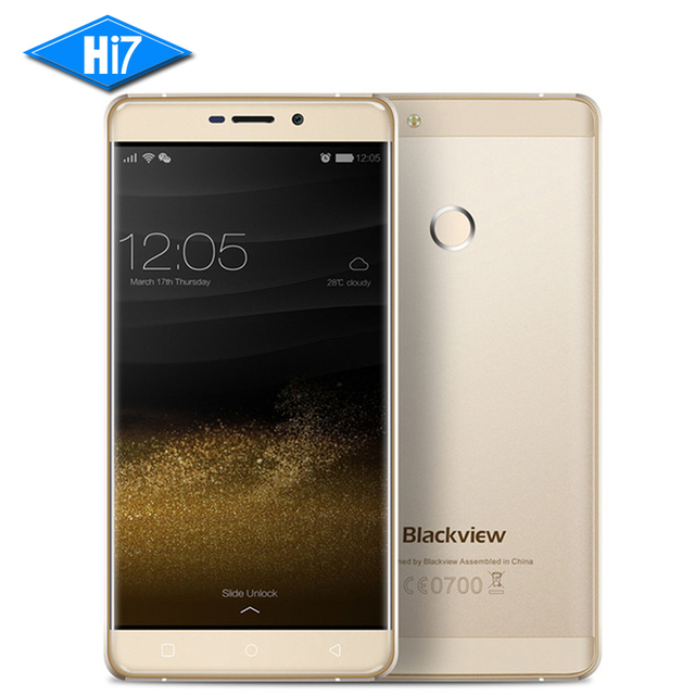 "NEW Original Blackview R7 Mobile Phone 5.5"" FHD MTK6755 Octa Core 4GB RAM 32GB ROM Android 3180mAh Fingerprint Smartphone 13MP"