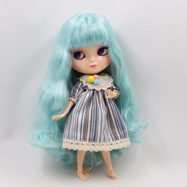 ICY Neo Blythe Doll Blue Hair Azone Body