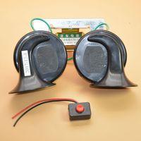 OEM 24V car horns electric horn siren dual tone horn snail horn ultra loud speaker waterproof relays for Passat Golf Jetta CC