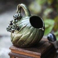 Ceramic Flower Vase Retro Style Vases European Home Decor Flower Pot Creative Porcelain Flowerpot Best Gifts