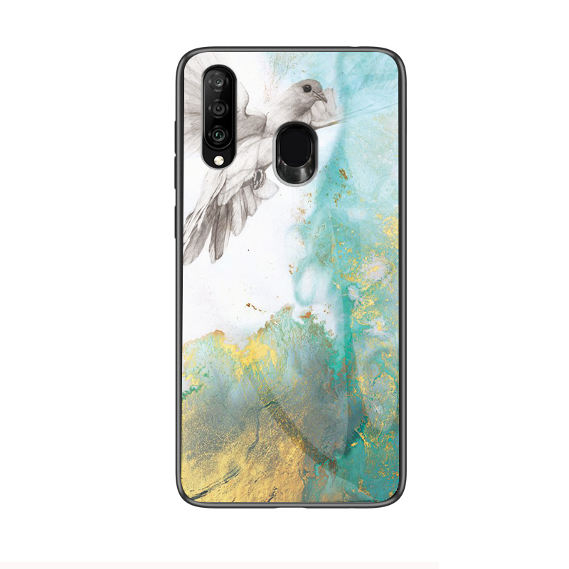 Image 5 - Marble Tempered Glass Phone Case For Samsung Galaxy A9 A8 A5 A6 Plus A7 2018 A6S A8S A30 A20 A10 A50 A70 A20E M10 M20 Cover Case-in Fitted Cases from Cellphones & Telecommunications