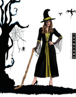 Adult Halloween Witch Costume For Women Witch Costumes Cosplay Gothic Witch Outfit The Queen Witch Role Play Clothing