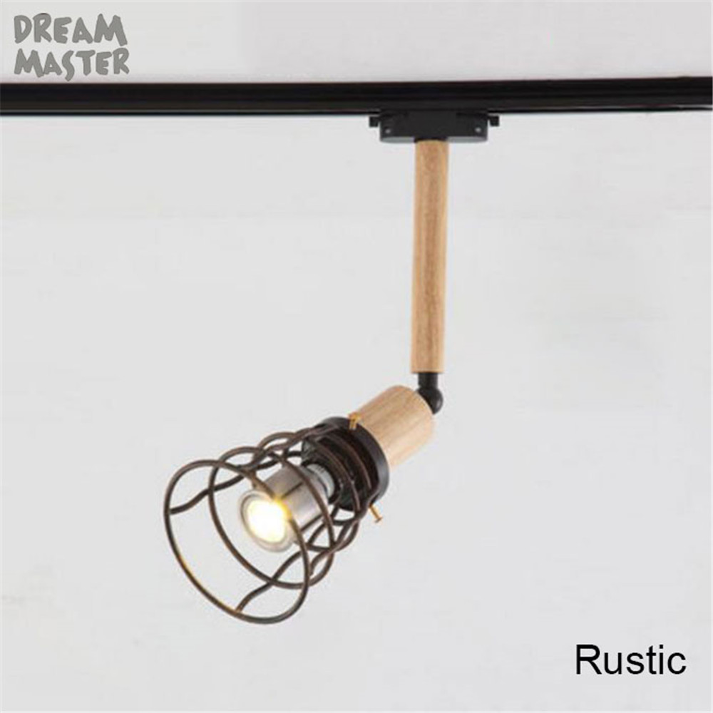 Retro 10w Led Track Light Edison Bulb E27 Adjustable Vintage Fluorescent Lighting Fixtures On Wiring In Series Clothing Store Rail Dream Master From Lights