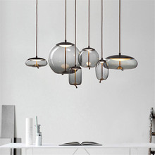 Nordic Loft Light Vintage Industrial Pendant Kitchen Modern Hanging Fixtures Living Room Luminaire Suspendu Art