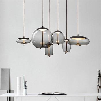 Nordic Loft Light Vintage Industrial Pendant Light Kitchen Modern Hanging Loft Light Fixtures Living Room Luminaire Suspendu Art