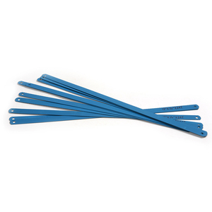 Image 2 - 10x גבוהה פחמן פלדה כחול צבע מסור להבי 300mm אורך מתכת להב לחיתוך מתכת מוצרים