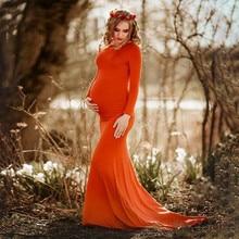 Женское платье для беременных; длинное платье в пол для беременных; платье для фотосессии; robe femme