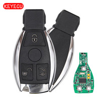 Keyecu Smart Key 3 Buttons 315MHz 433MHz For Mercedes Benz Auto Remote Key Support NEC And