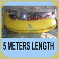 HOT 5M Long Inflatable Banana Balloon for Promotion,Inflatable Tomato Sphere for Party,Giant Helium Sphere for Events