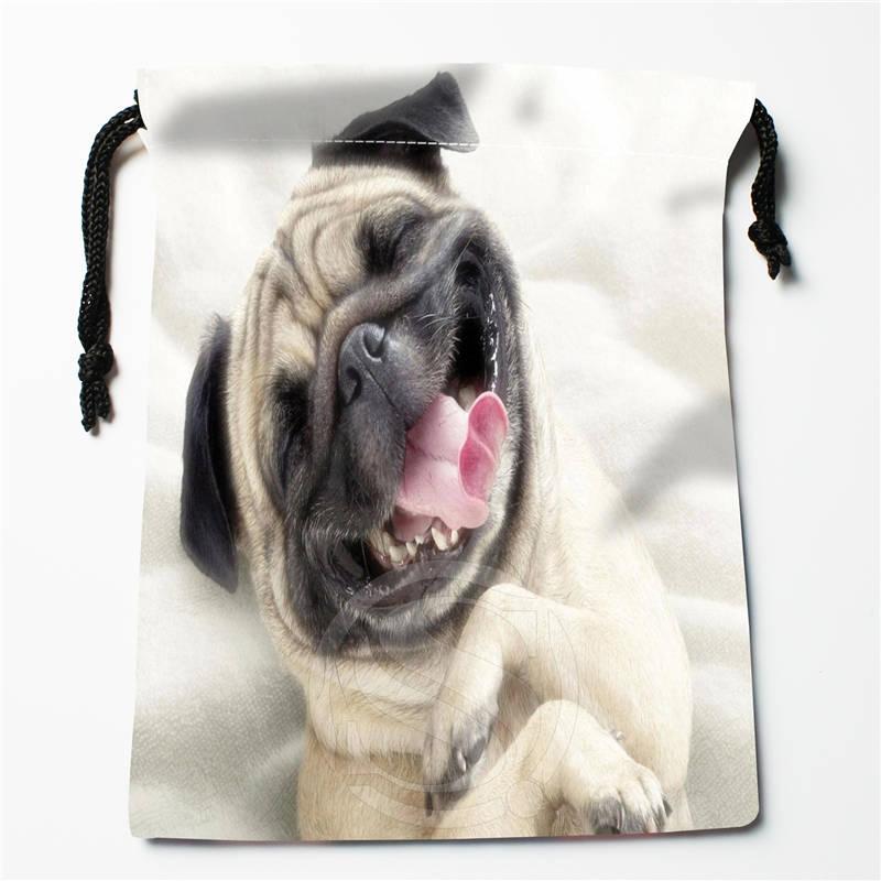T #! r83 Nouveau chien de roquet chiot Personnalisé Imprimé reçoivent le Sac De Compression Type De cordon sacs taille 18X22 cm 7 & 12ft-r83