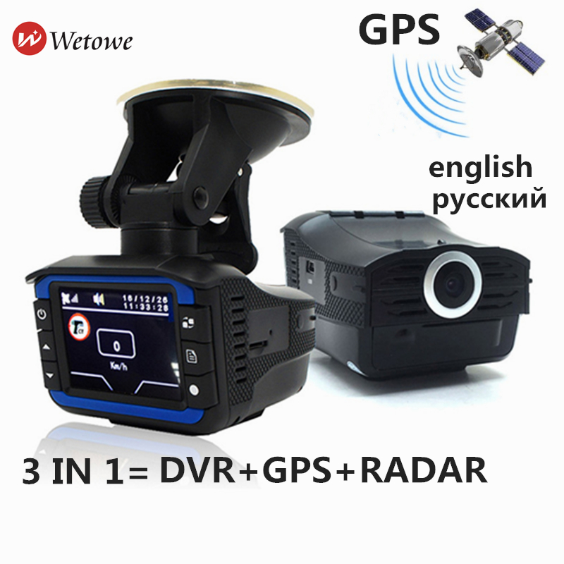 US $49 99 |I6 3 in 1 Russian GPS Radar Detectors Anti Radar Car DVR Dash  Cam GPS Tracker Driving for Russia Laser Speed Decetion -in Car Multimedia
