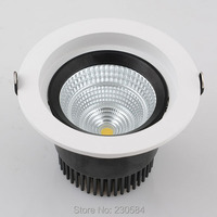40w led Recessed Lighting downlight with very nice heat sink structure cut hole 170mm