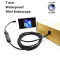 7mm 1M OTG Android Phone Endoscope 480P 1.3MP IP67 Borescope Mini Camera Micro Cam with 6 leds 4 Gift for Windows XP/7 for Vista