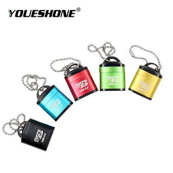 Super mini Card Reader Tiny USB 2.0 Memory Card Reader Adapter For Micro SD SDHC TF hot-sale