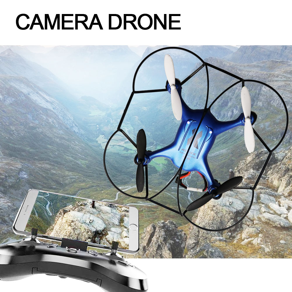 ATOYX Camera Drone With Camera HD 4k Mini Drone RC Quadcopter FVP WIFI With Wide Angle HD High Headless Altitude Hold Mode 4CH