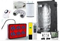 Complete Grow Room Indoor Hydroponic 80x80X160cm Grow Dark Box Ventilation Greenhouse For Garden Complete Grow Kit