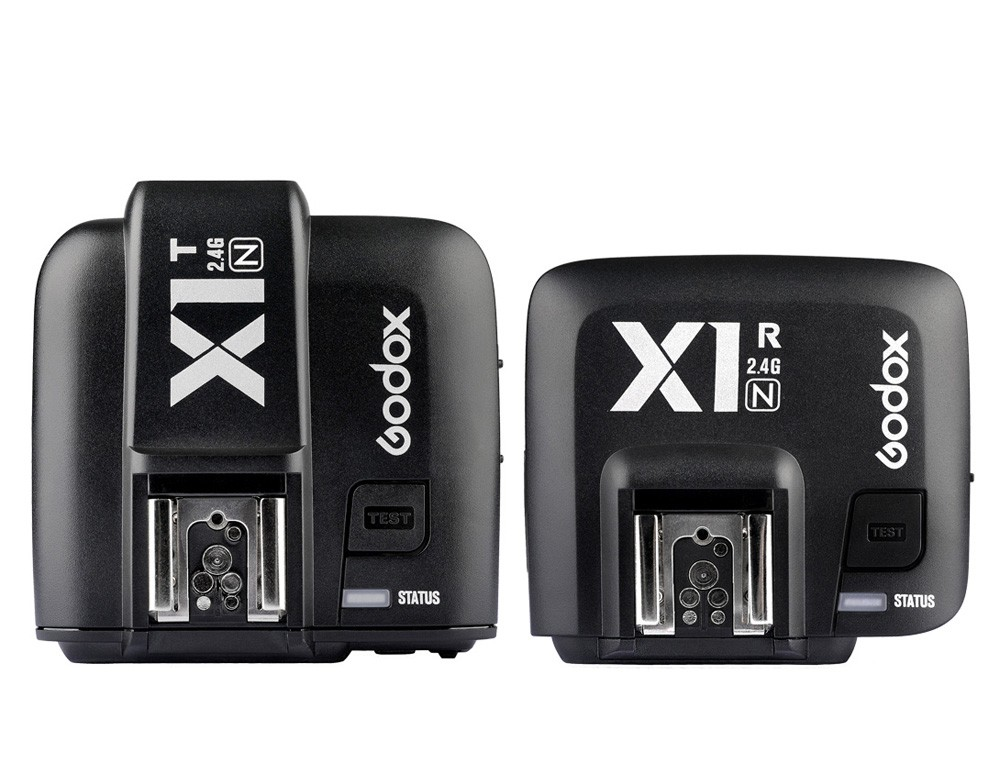 Godox X1N 2.4GHz i-TTL Wireless Transmitter Receiver Trigger Set For Nikon D800 D3X D3 D2X D2H D1H D1X D700 D300 D200 D100 цена