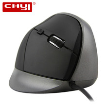 Wired Vertical Mouse Ergonomic Design Healthy Mice 5 Buttons 1600DPI Optical Mause Computer Gaming Mouse for PC Laptop Gamer