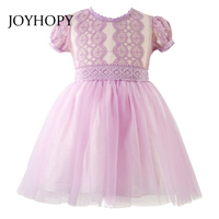 Flower Girl Dresses For Wedding Pageant White Pink Purple Lace Communion Dress For Girls Toddler Baby